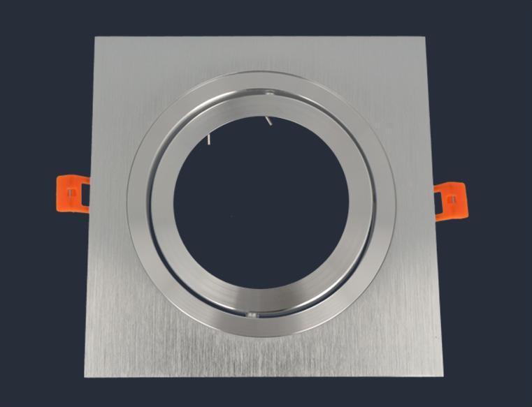 Oprawa Aluminiowa Ar111 Kwadratowa Ruchoma Srebrny