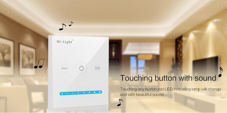 MILIGHT Fernbedienung, MILIGHT - Smart Panel Controller (Brightness) - P1, futlight, pilot wifi