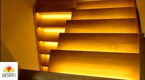 Oświetlenie Schodów Zestaw Angielski 13 Schodów Illuminationspl